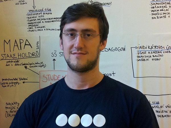 Tomáš Bazala, vedoucí projektů vneziskové organizaci Agora Central Europe.