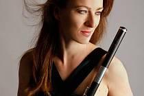 Symfonický orchestr FOK si pro vás na neděli připravil Flétnové okouzlení. Na snímku flétnistka Hana Knauerová.