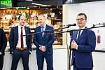 Otevření nové komerční zóny na Terminálu 2 Letiště Praha.