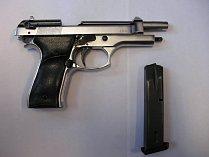 Plynová pistole. Ilustrační foto.