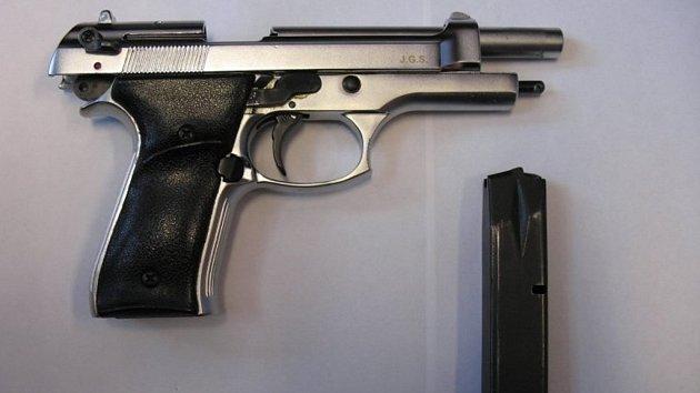 Mladík střílel v Kyjově z plynové pistole