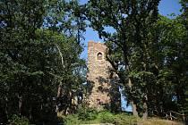 Nejstarší pražská rozhledna pochází ze začátku 19. století.