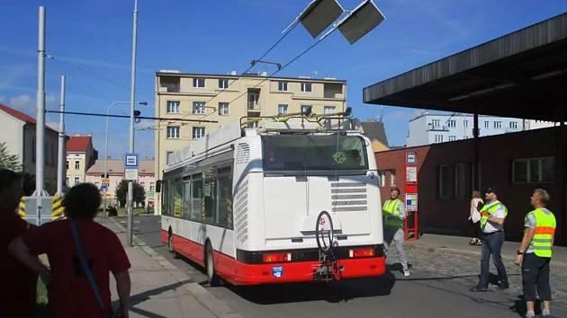 Trolejbusy mají jezdit z Prahy do Středočeského kraje. Ilustrační foto.