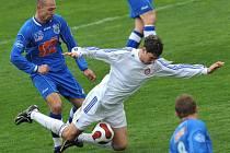 V OSLABENÍ PŘIŠEL TREST. Sparta Krč prohrála gólem v druhé minutě nastavení.