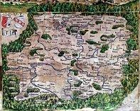 Klaudyánova mapa.