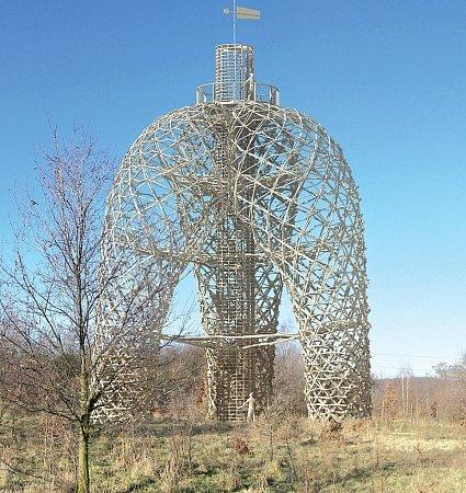 Rozhledna Doubravka vpředstavě architekta Martina Rajniše. Reál bude nepochybně stejný, takže nezbývá, než se těšit.