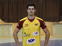 Trénink HC Dukla Praha házená. Jiří Kalík.