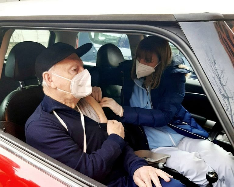 Očkování proti covid-19 v pražských městských částech.