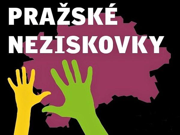 Logo seriálu Deníku Pražské neziskovky.