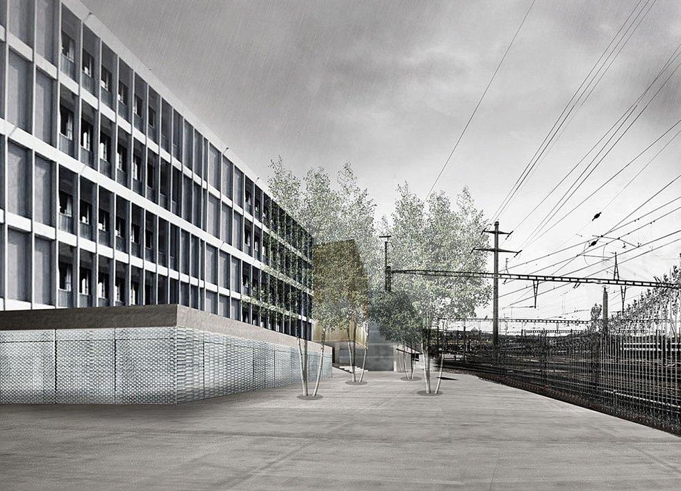 Švýcarské konsorcium urbanistické firmy agps architecture, krajinářského ateliéru Girot a dopravních inženýrů IBV Hüsler  se prezentovali několika urbanistickými návrhy čtvrtí v návaznosti na železnici jako je projekt Zollstrasse Zürich.