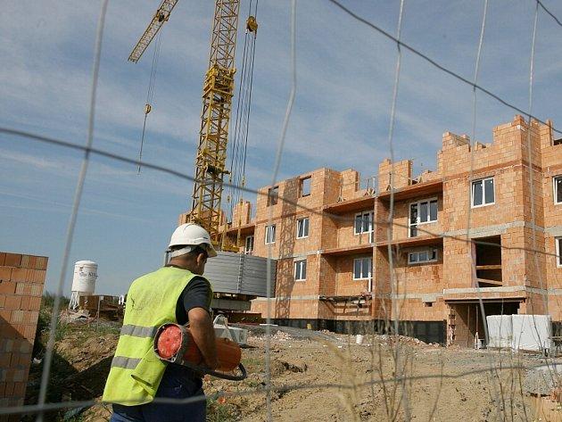 Výstavba bytů. Ilustrační foto.