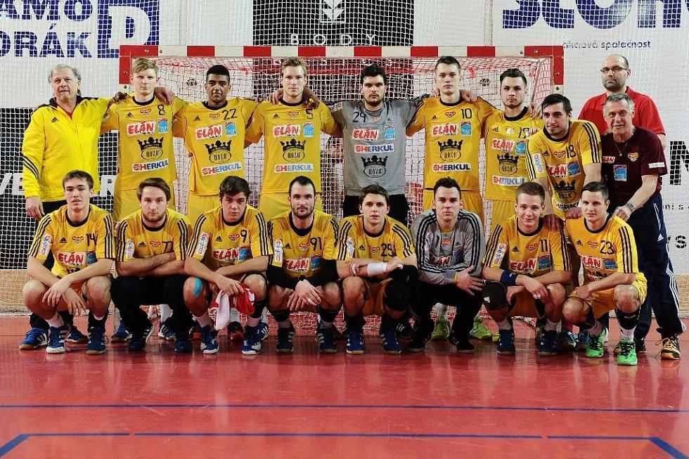 HÁZENKÁŘI DUKLY došli v sezoně 2014/15 do osmifinále Vyzývacího poháru.