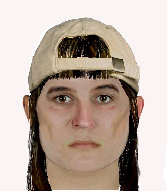 Identikit podezřelé ženy