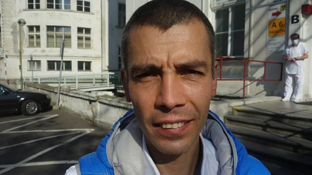 Pneumolog Michal Šotola.