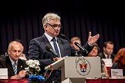 Sněm Hospodářské komory ČR probíhal 16. května v Praze. Milan Štěch
