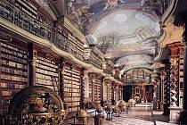Barokní sál Klementina patří k největším architektonickým skvostům Národní knihovny České republiky.