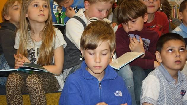 Malé čtenáře pobaví v klubu Střediska volného času Diamant