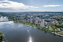 Projekt Port7 vznikne u Trojského mostu v bývalé průmyslové zóně.