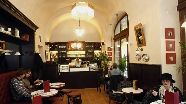 Kavárna. Ilustrační foto.