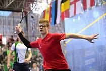 Talentovaný squashista Marek Panáček se od středy ukáže na strahovském turnaji.