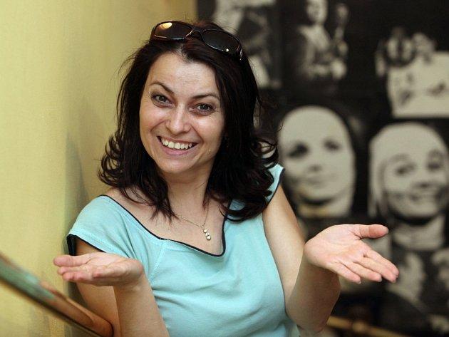 Herečka Evellyn Pacoláková.