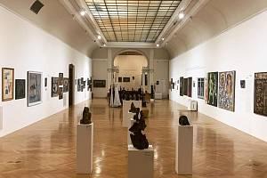 Výstava Nezlomní v Obecním domě.