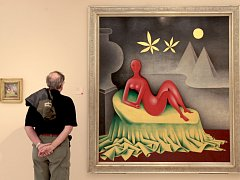 Výstava v Národní galerii. Ilustrační foto.