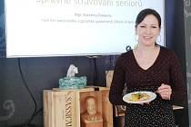 Kateřina Šimková je nutriční specialistka a odborná garantka společnosti Zdravé stravování.