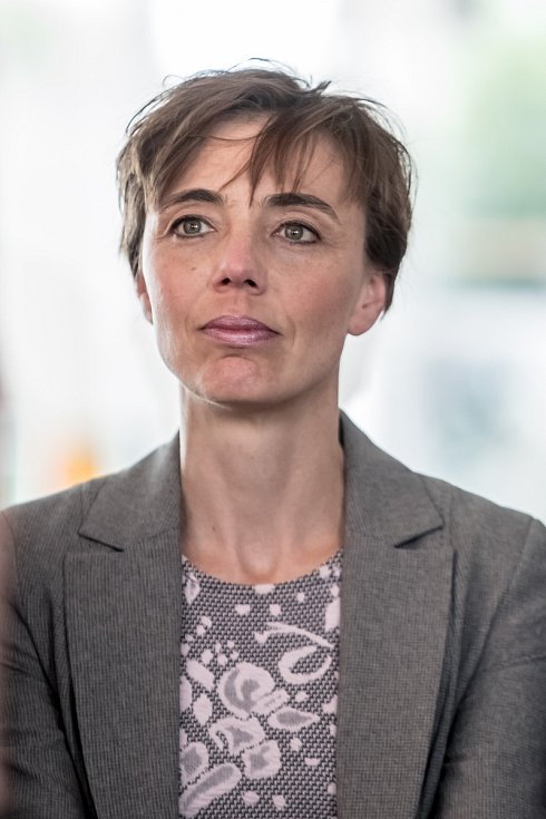 Strana zelených představila 16. června v Praze svůj program a lídry do podzimních parlamentních voleb. Monika Konvalinková - Vysočina.