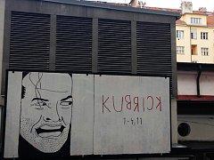 Banner k přehlídce filmů S. Kubricka