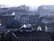 Smog nad Prahou