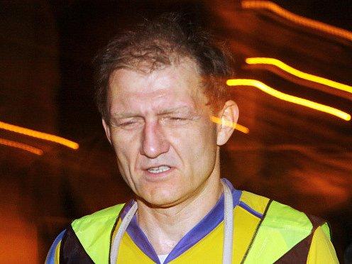 Noční běh pro Světlušku. Na snímku Ivo Budil.