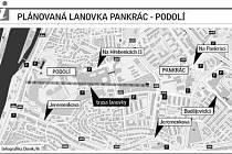 Podle radnice Prahy 4 by lanovka prospěla Pražanům i turistům.