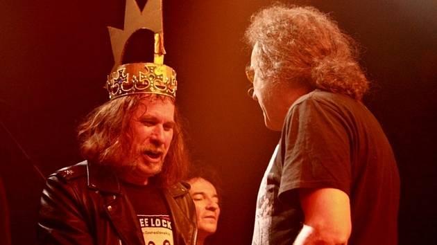 Korunovace punkového krále