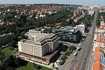 Hotel Diplomat v pražských Dejvicích.