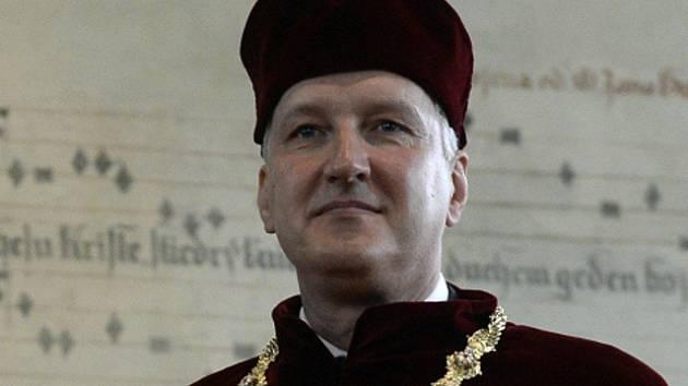 Petr Konvalinka, rektor Českého vysokého učení technického v Praze.