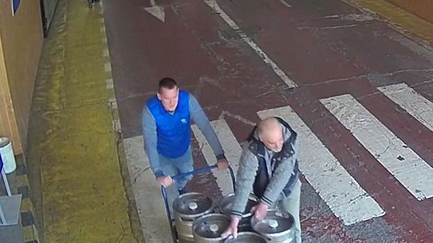 Krádež pivních sudů