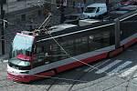 Tramvaj v Praze. Ilustrační foto.