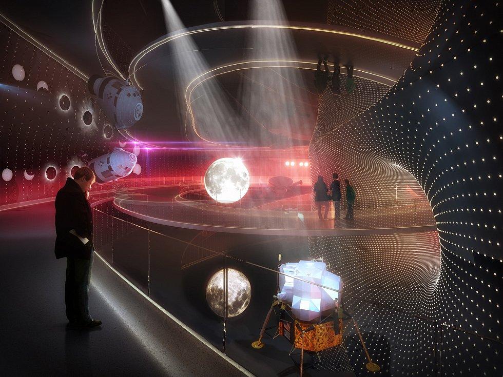 Vizualizace nového planetária