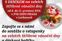 S Deníkem na veletrh Stříbrné vánoční dny v PVA Expo Praha v Letňanech.