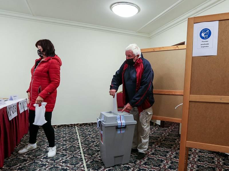 Volby do Poslanecké sněmovny Parlamentu České republiky v TOP hotelu Praha.