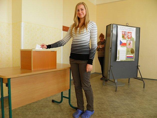 Studentka Tereza Nováková