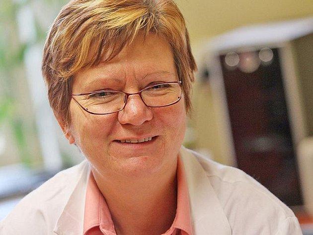 Primářka Irena Zrzavecká z psychiatrické kliniky na Karlově.