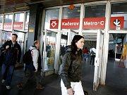 Stanice metra Kačerov. Ilustrační foto.