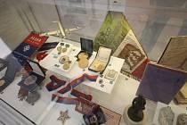 Výstava Volejbalové století v Národním muzeu.