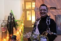 Halloween na Vinohradech.