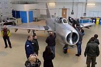 Stíhací bombardovací letoun MiG-15
