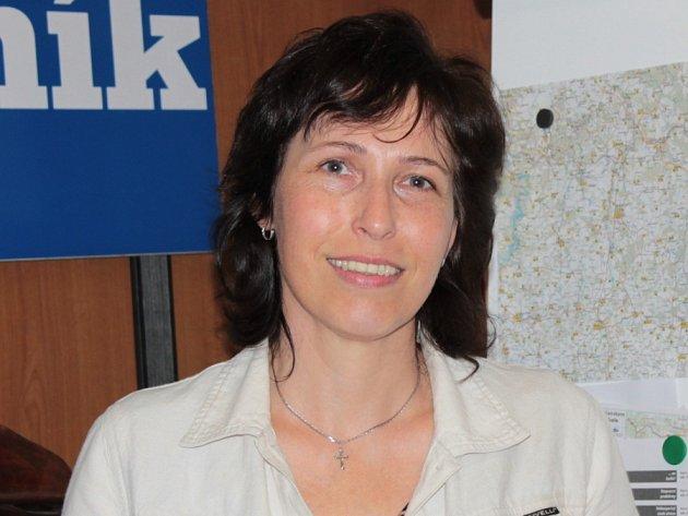Cukrářka Monika Vöglerová z Benešova.