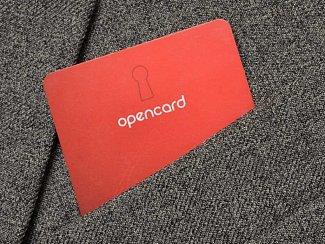 Karta Opencard. Ilustrační foto.