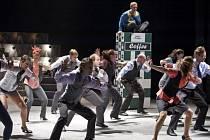 Muzikál Jak udělat kariéru snadno a rychle v Divadle na Vinohradech